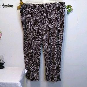 Susan Graver wide leg pants xl